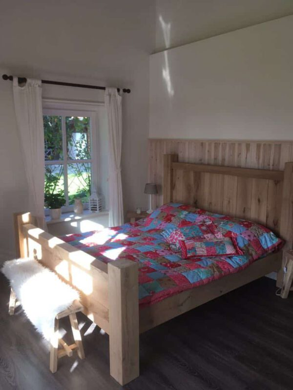 Eikenhouten bed Johnson