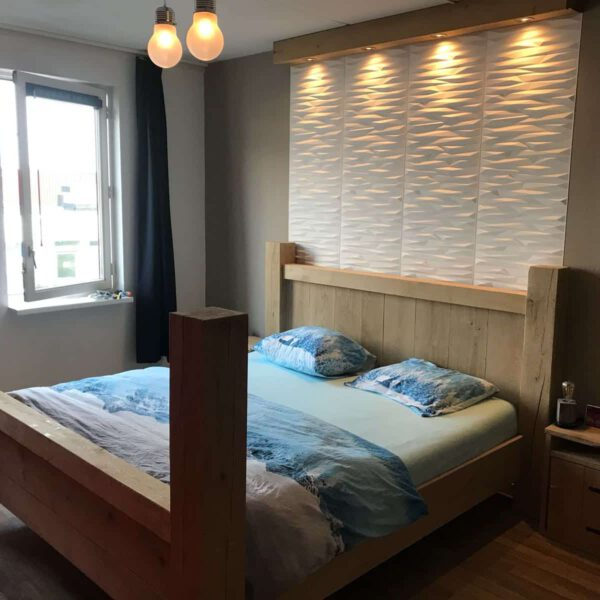 Eikenhouten bed Houston