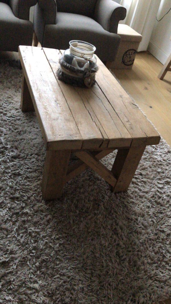 Eikenhouten salontafel Birk